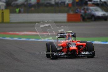 © 2012 Octane Photographic Ltd. German GP Hockenheim - Saturday 21st July 2012 - F1 Qualifying session 1. Marussia MR01 - Charles Pic. Digital Ref : 0417lw1d3032