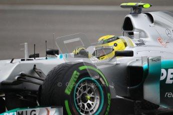 © 2012 Octane Photographic Ltd. German GP Hockenheim - Saturday 21st July 2012 - F1 Qualifying. Mercedes W03 - Nico Rosberg. Digital Ref : 0417lw1d3598