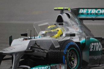 © 2012 Octane Photographic Ltd. German GP Hockenheim - Saturday 21st July 2012 - F1 Qualifying. Mercedes W03 - Nico Rosberg. Digital Ref : 0417lw1d3761