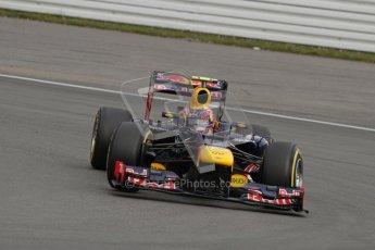 © 2012 Octane Photographic Ltd. German GP Hockenheim - Saturday 21st July 2012 - F1 Qualifying session 2. Red Bull RB8 - Mark Webber. Digital Ref : 0417lw7d7851
