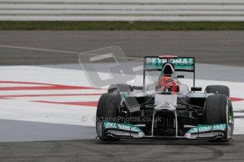 © 2012 Octane Photographic Ltd. German GP Hockenheim - Saturday 21st July 2012 - F1 Qualifying session 2. Mercedes W03 - Michael Schumacher. Digital Ref : 0417lw7d7880