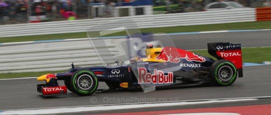 © 2012 Octane Photographic Ltd. German GP Hockenheim - Saturday 21st July 2012 - F1 Qualifying session 2. Red Bull RB8 - Sebastian Vettel. Digital Ref : 0417lw7d7948