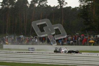 © 2012 Octane Photographic Ltd. German GP Hockenheim - Saturday 21st July 2012 - F1 Qualifying. Sauber C31 - Sergio Perez. Digital Ref : 0417lw7d8022
