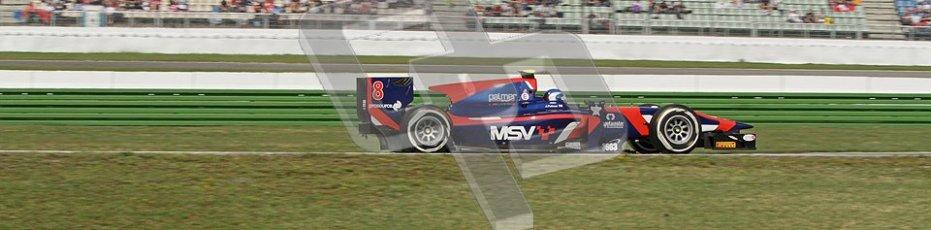 © 2012 Octane Photographic Ltd. German GP Hockenheim - Saturday 21st July 2012 - GP2 Race 1 - iSport International - Jolyon Palmer. Digital Ref : 0419lw7d8237