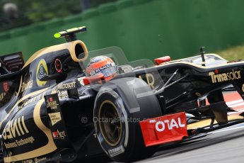 © 2012 Octane Photographic Ltd. German GP Hockenheim - Saturday 21st July 2012 - F1 Practice 3. Lotus E20 - Romain Grosjean. Digital Ref : 0416lw1d2458
