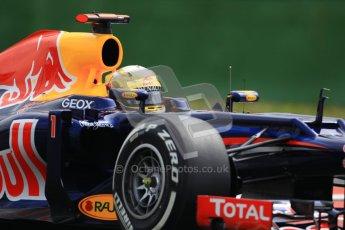 © 2012 Octane Photographic Ltd. German GP Hockenheim - Saturday 21st July 2012 - F1 Practice 3. Red Bull RB8 - Sebastian Vettel. Digital Ref : 0416lw1d2521