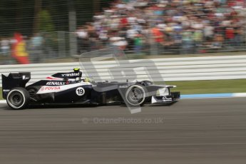 © 2012 Octane Photographic Ltd. German GP Hockenheim - Saturday 21st July 2012 - F1 Practice 3. Williams FW34 - Bruno Senna. Digital Ref : 0416lw7d6435