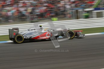 © 2012 Octane Photographic Ltd. German GP Hockenheim - Saturday 21st July 2012 - F1 Practice 3. McLaren MP4/27 - Lewis Hamilton. Digital Ref : 0416lw7d6500
