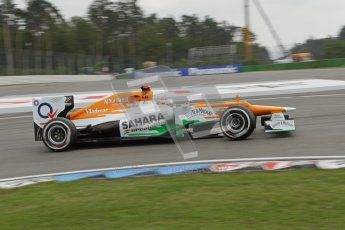 © 2012 Octane Photographic Ltd. German GP Hockenheim - Saturday 21st July 2012 - F1 Practice 3. Force India VJM05 - Paul di Resta. Digital Ref : 0416lw7d7312