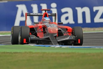© 2012 Octane Photographic Ltd. German GP Hockenheim - Saturday 21st July 2012 - GP3 Qualifying - Marussia Manor Racing - Dmitry Suranovich. Digital Ref : 0420lw7d6196