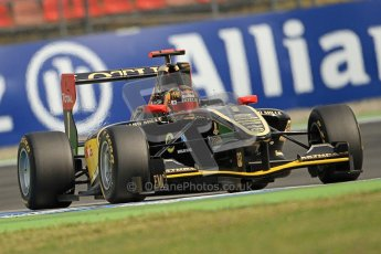 © 2012 Octane Photographic Ltd. German GP Hockenheim - Saturday 21st July 2012 - GP3 Qualifying - Lotus GP - Daniel Abt. Digital Ref : 0420lw7d6320