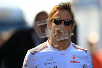 © 2012 Octane Photographic Ltd. German GP Hockenheim - Sunday 22nd July 2012 - F1 Raceday paddock. McLaren MP4/27 - Jenson Button. Digital Ref : 0422lw1d4724