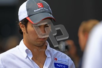 © 2012 Octane Photographic Ltd. German GP Hockenheim - Sunday 22nd July 2012 - F1 Raceday paddock. Sauber C31 - Sergio Perez. Digital Ref : 0422lw1d4888