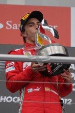 © 2012 Octane Photographic Ltd. German GP Hockenheim - Sunday 22nd July 2012 - F1 Podium - Fernando Alonso - Winner (Ferrari). Digital Ref : 0421lw7d9218