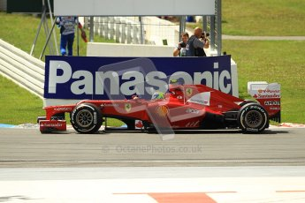 © 2012 Octane Photographic Ltd. German GP Hockenheim - Sunday 22nd July 2012 - F1 Race. Ferrari F2012 - Felipe Massa. Digital Ref : 0423lw1d4991