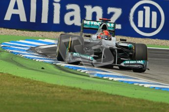 © 2012 Octane Photographic Ltd. German GP Hockenheim - Sunday 22nd July 2012 - F1 Race. Mercedes W03 - Michael Schumacher. Digital Ref : 0423lw1d5472