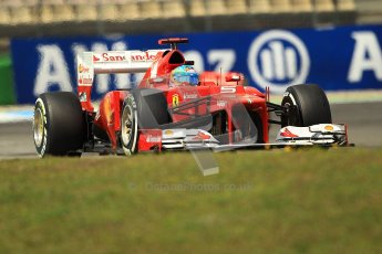 © 2012 Octane Photographic Ltd. German GP Hockenheim - Sunday 22nd July 2012 - F1 Race. Ferrari F2012 - Fernando Alonso. Digital Ref : 0423lw1d5635
