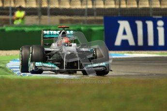 © 2012 Octane Photographic Ltd. German GP Hockenheim - Sunday 22nd July 2012 - F1 Race. Mercedes W03 - Michael Schumacher. Digital Ref : 0423lw1d5660