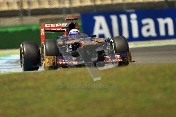 © 2012 Octane Photographic Ltd. German GP Hockenheim - Sunday 22nd July 2012 - F1 Race. Toro Rosso STR7 - Daniel Ricciardo. Digital Ref : 0423lw1d5683