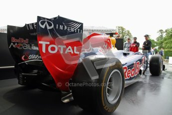 © 2012 Octane Photographic Ltd/ Carl Jones. Red Bull Racing, Goodwood Festival of Speed. Digital Ref: 0388CJ7D5781
