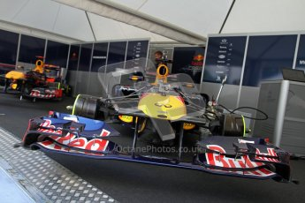 © 2012 Octane Photographic Ltd/ Carl Jones. Red Bull Racing, Goodwood Festival of Speed. Digital Ref: 0388CJ7D5825
