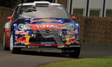 © 2012 Octane Photographic Ltd/ Carl Jones. Citroen DS3, Goodwood Festival of Speed. Digital Ref: 0388CJ7D6129