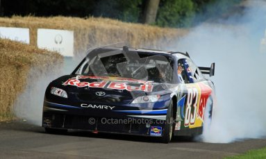 © 2012 Octane Photographic Ltd/ Carl Jones. Redbull NASCAR, Goodwood Festival of Speed. Digital Ref: 0388CJ7D6193