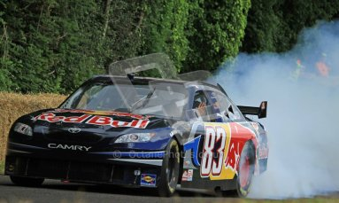 © 2012 Octane Photographic Ltd/ Carl Jones. Redbull NASCAR, Goodwood Festival of Speed. Digital Ref: 0388CJ7D6211