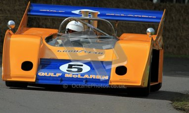 © 2012 Octane Photographic Ltd/ Carl Jones. McLaren CANAM, Goodwood Festival of Speed. Digital Ref: 0388CJ7D6280