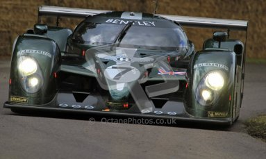 © 2012 Octane Photographic Ltd/ Carl Jones. Bentley EXP Speed 8, Goodwood Festival of Speed. Digital Ref: 0388CJ7D6389