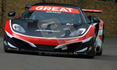 © 2012 Octane Photographic Ltd/ Carl Jones. McLaren MP4-12C, Goodwood Festival of Speed. Digital Ref: 0388CJ7D6297
