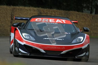 © 2012 Octane Photographic Ltd/ Carl Jones. McLaren MP4-12C, Goodwood Festival of Speed. Digital Ref: 0388cj7d6301