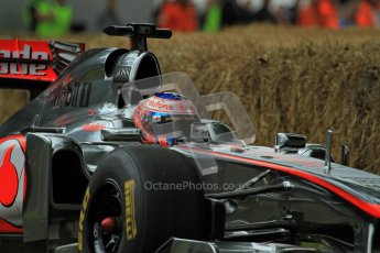 © 2012 Octane Photographic Ltd/ Carl Jones. Jenson Button, McLaren MP4-26, Goodwood Festival of Speed. Digital Ref: 0388cj7d6529