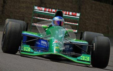 © 2012 Octane Photographic Ltd/ Carl Jones. Jordan 191, Goodwood Festival of Speed. Digital Ref: 0388CJ7D6570