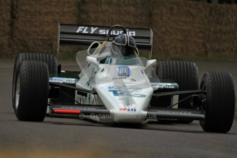 © 2012 Octane Photographic Ltd/ Carl Jones. Williams FW08, Goodwood Festival of Speed. Digital Ref: 0388CJ7D6589