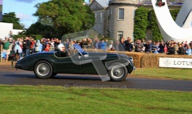 © 2012 Octane Photographic Ltd/ Carl Jones. Sir Stirling Moss, Goodwood Festival of Speed. Digital Ref: 0389cj7d6871