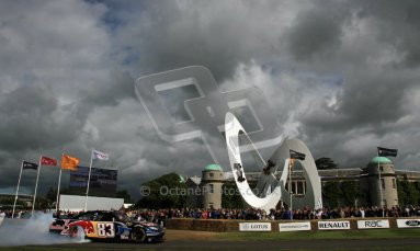 © 2012 Octane Photographic Ltd/ Carl Jones. Red Bull NASCAR, Goodwood Festival of Speed. Digital Ref: 0389cj7d6988