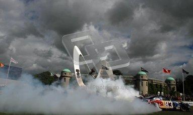 © 2012 Octane Photographic Ltd/ Carl Jones. Red Bull NASCAR, Goodwood Festival of Speed. Digital Ref: 0389cj7d7017