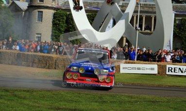 © 2012 Octane Photographic Ltd/ Carl Jones. Renault 5 Turbo, Goodwood Festival of Speed. Digital Ref: 0389cj7d7036