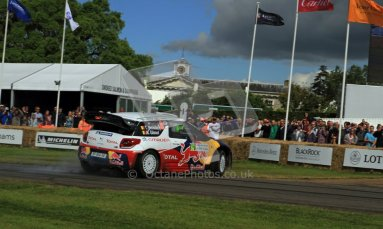 © 2012 Octane Photographic Ltd/ Carl Jones. Citroen DS3 WRC, Goodwood Festival of Speed. Digital Ref: 0389cj7d7055
