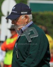 © 2012 Octane Photographic Ltd/ Carl Jones. Murray Walker, Goodwood Festival of Speed. Digital Ref: