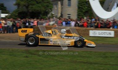 © 2012 Octane Photographic Ltd/ Carl Jones. Goodwood Festival of Speed, Renault Historic F1. Digital Ref: