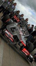 © 2012 Octane Photographic Ltd/ Carl Jones. McLaren MP4-26, Goodwood Festival of Speed. Digital Ref:
