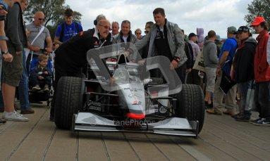 © 2012 Octane Photographic Ltd/ Carl Jones. McLaren MP4-13, Goodwood Festival of Speed. Digital Ref: