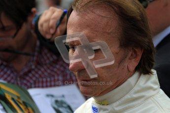 © 2012 Octane Photographic Ltd/ Carl Jones.  Emerson Fittipaldi, Goodwood Festival of Speed, Historic F1. Digital Ref: 0389cj7d7730