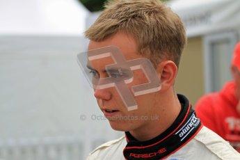 © 2012 Octane Photographic Ltd/ Carl Jones.  Dan Lloyd, Goodwood Festival of Speed. Digital Ref: 0389cj7d7829