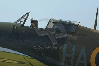 © 2012 Octane Photographic Ltd. Goodwood Revival. September 15th 2012. Hurricane. Digital Ref : 0521cb1d9985