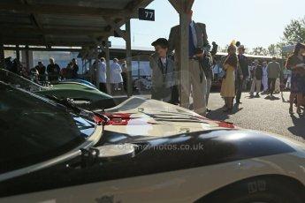 World © 2012 Octane Photographic Ltd. Goodwood Revival. September 15th 2012. Adrian Newey's Ford GT40. Digital Ref : 0520cb1d9328