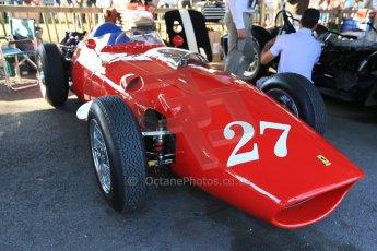 World © 2012 Octane Photographic Ltd. Goodwood Revival. September 15th 2012. Ferrari Historic F1. Digital Ref : 0520cb1d9330