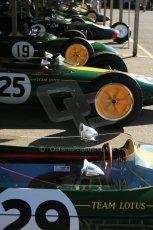 World © 2012 Octane Photographic Ltd. Goodwood Revival. September 15th 2012. Team Lotus Historic F1. Digital Ref : 0520cb1d9377